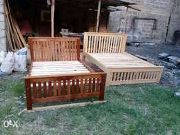 Beds Mahogany and Cyprus.