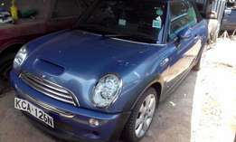 Mini Cooper S-Convertible,2007,one owner