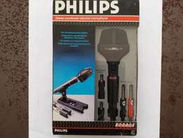 PHILIPS Stereo condenser mic with carry case