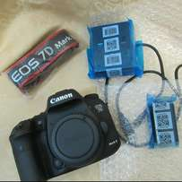 Brand new canon 7D mark II with 18-135mm