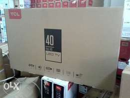 Tcl 40 inch digital TV with over 100 free to air channels