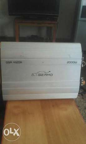 Germo 2000watts amplifier car booster very powerful Gilgil - image 5