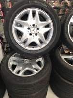 Mercedes Mag Wheels and Tyres