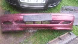 Mercedes benz benz bumpers