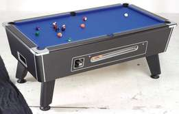 Slate Snooker table with coin