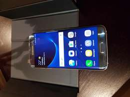 Samsung S7 Edge Corral Blue limited edition like new
