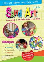 Sand Art Pack for Holiday and Birthday Parties