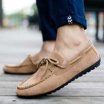 Men's suede lazy casual shoes