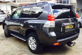toyota prado new shape diesel 2010 model fully loaded at 5,499,999/=