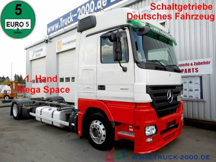 Mercedes-Benz 1841 Actros Mega Space *Schaltgetriebe* Deutsch - 2008