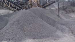Stones,sand,ballast and dust for sale