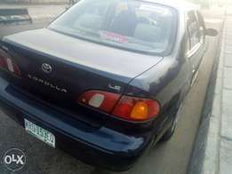 ADORABLE MOTORS: A Neatly used & sound 2000 model Toyota corolla