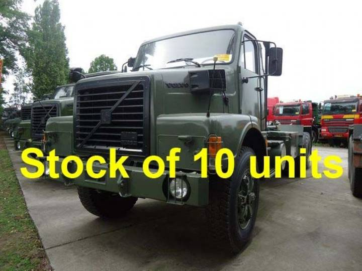 Volvo N10 - 6x4 - Haak / Hook System / 10 Units - 1987