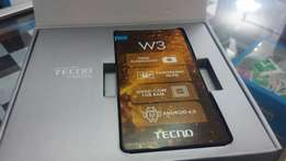 Brand new & sealed Tecno W3 ksh 7499
