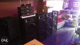 P.A and Deejay Equipments for hire