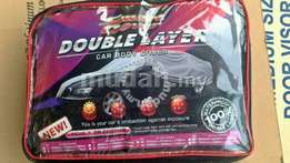 Double layer car cover