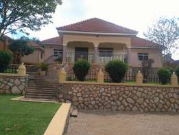 A three bedroom standalone house for rent in ntinda