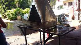 Stainless Steel Smoker - Homemade