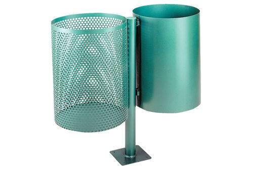 Cosuri din metal pentru parcuri waste container
