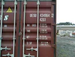 40HC Wind and Water Tight container