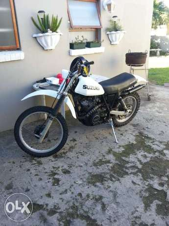 Suzuki DR 500 mint and running! swop or sell!! Cambridge - image 1