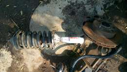 Ford Sierra Left&Right Stubaxle+shock+disc+calliper. R750 each