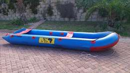African River Craft inflatable boat