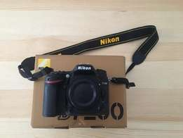 Nikon D7200 Camera body + Grip, as new condition only 2044 S.counts
