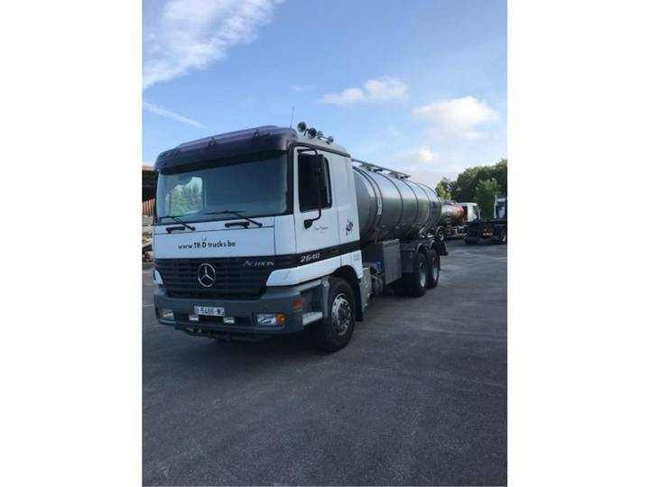 Mercedes-Benz 2640 WITH TANK IN STAINLESS STEEL 16000 L - 6X4 - 1999