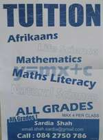 School Tution available for All Grades.