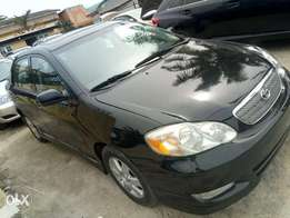 Foreign Used Corolla Sport