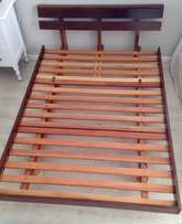 Wooden Double Bed Base