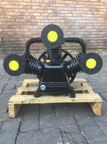New 5.5 kw and 7.5 air compressor heads only