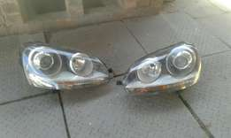 Golf 5 zenon headlights