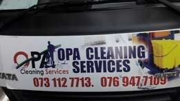 special on cleaning from today till end of the month
