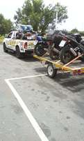 bike/quad transport to jhb mdrand this weekend