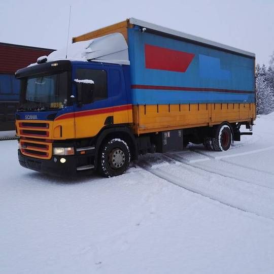 Scania P270 Alulava Liukukapeli+pl Nostin - 2005