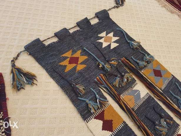 25bd if picked up before Thursday Handmade Kilim wool wall hanging rug