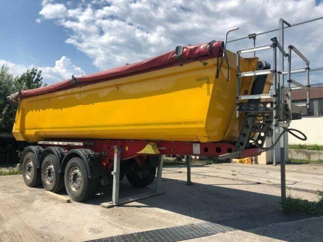 Schmitz Cargobull SKI 24 SL 7.2 3 Achs Stahl Rundmulde Lift - 2014