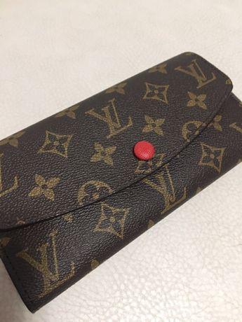 Красивый модный кожаный кошелёк Louis Vuitton(Луи Виттон) подарок Харьков -  изображение 5 634ca33123f