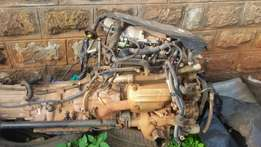 nissan infiniti v6 engine plus gearbox