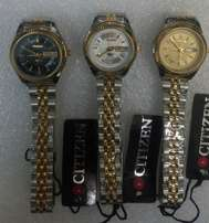 Citizen ladies watches in gold,silver,gold/silver bracelet,at 3500ksh