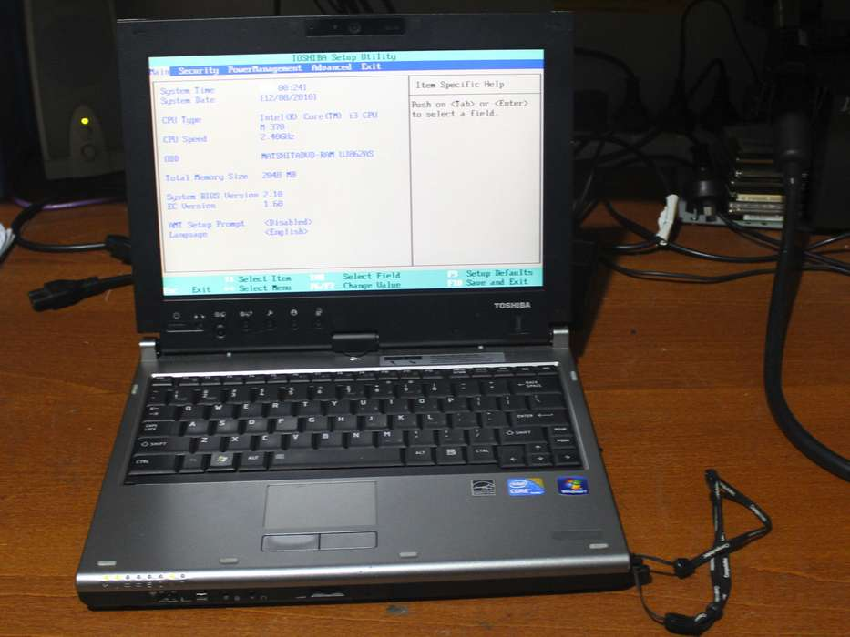 Toshiba Portege M780 Assist Driver Windows 7