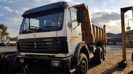 Powerstar 2628 10cube tipper truck now in special !!