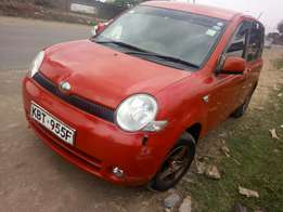Toyota sienta,very clean,acident free,seven seater.