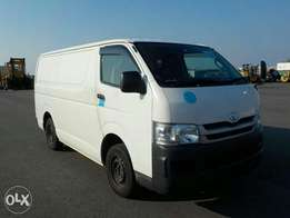 Hiace with freezer inside