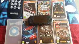 Psp and 7 games to sell