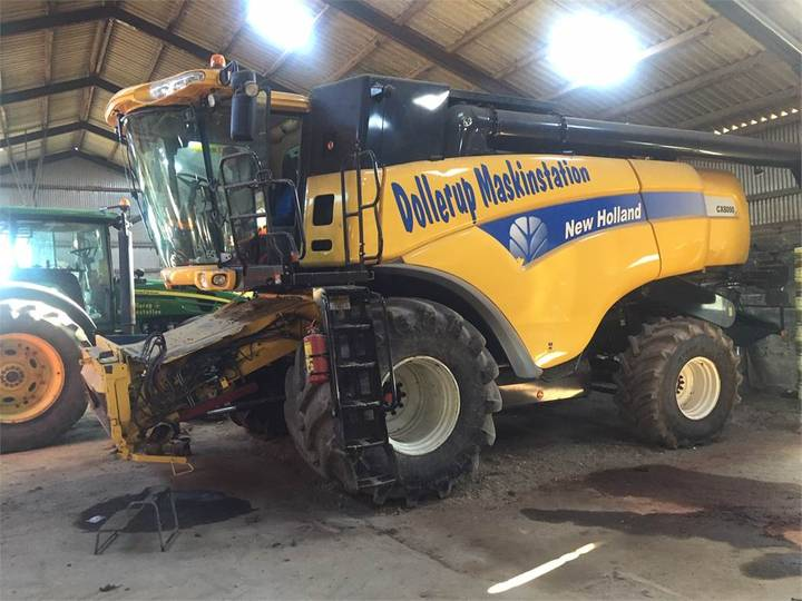 New Holland Cx8090 Slh 30 Fod Vf - 2009