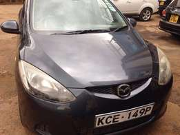Mazda Demio 2wd 1340Cc Efi Petrol Engine Blue Colour