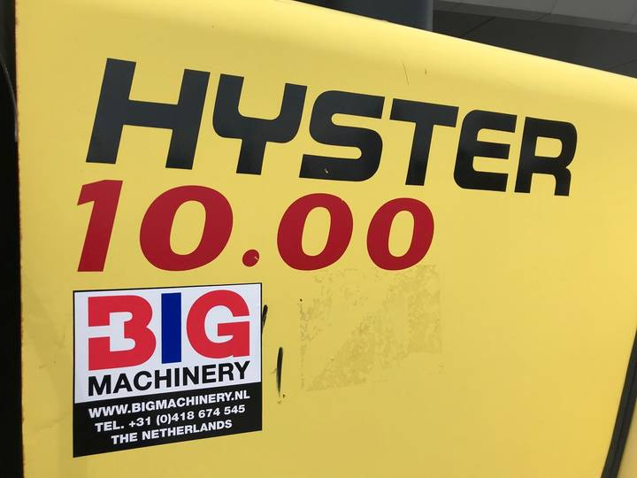 Hyster H10.00XM-6 1600 hrs only! - 2007 - image 7